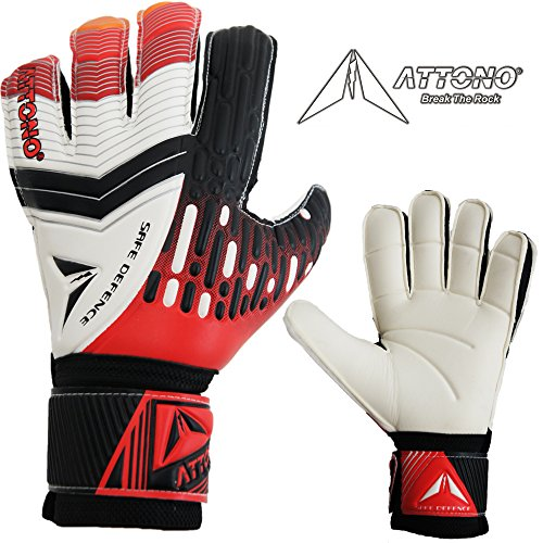 ATTONO Torwarthandschuhe Safe Defence Fingersave Torwart Handschuhe