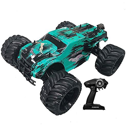 1/10 Vehículo de control remoto Bigfoot 4WD Impermeable eléctrico sin escobillas RC Buggy 19 pulgadas grande fuera de carretera RC Coche todo pleno deriva RC Regalo de coche para niños profesionales d