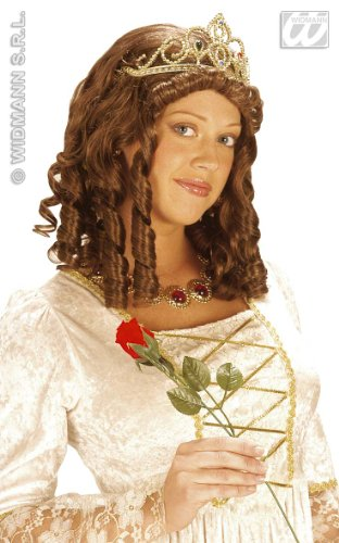 PK 4 QUEEN WIGS WITH CROWN IN BOX