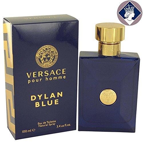 Gianni Versace Pour Homme Dylan Blue 100ml/3.4oz Eau De Toilette Spray for Men