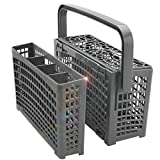 Universal Dishwasher Silverware Replacement Basket - Utensil/Cutlery Basket - Compatible with Bosch, Maytag,...