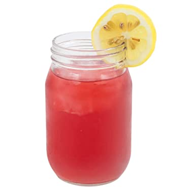 Set of 6 Drinking / Mason Jar 16 oz No Handle Libbey Glass 92103