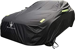 KTYXDE Car Cover Thick Oxford Cloth Sun Rain Car Cover for Maserati Ghibli Models Car Cover (Size : Oxford Cloth - Built-in lint)