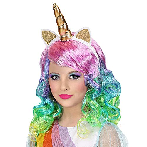 Widmann Unicorno Party E Carnevale-Parrucche...