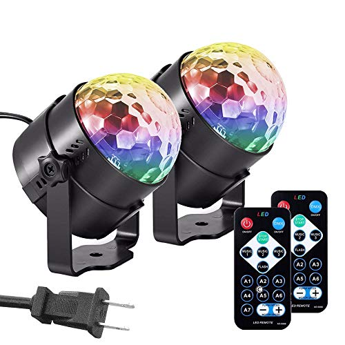 dj light bulb with remote control - 3