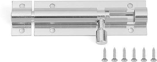 Deurgrendel Black Silver Barrel Bout 2/3/4/5/6/8 / 4/5/6/8 / 8inch Aluminium Deurklink Hardware voor Home Hardware Gate Ve...