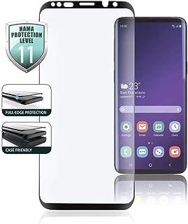 Hama Full Screen 3D Schutzglas für Samsung Galaxy S10E, Schwarz