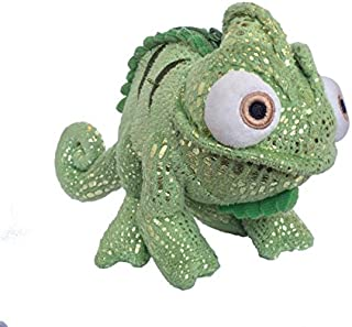 NEW Disney Store Tangled Green Pascal Chameleon Plush Coin Purse Hand Bag NWT