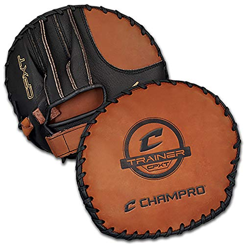 Champro Infielder Training Glove (Black/Tan)