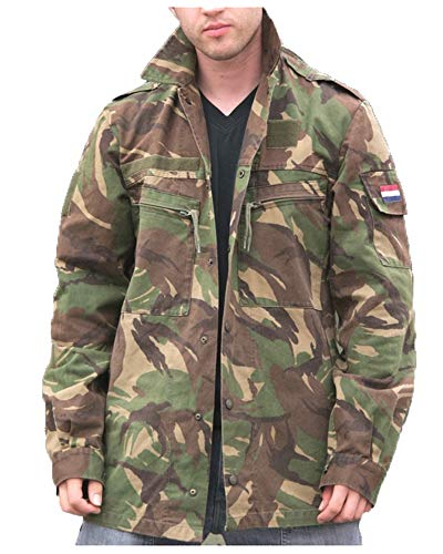 Dutch Army -  Giacca - Uomo Multicolore Medium