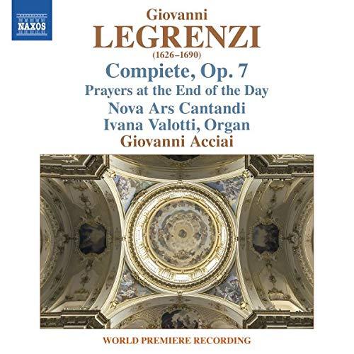Compiete Con Le Lettanie Et Antifone Della B.V. A 5 Op.7