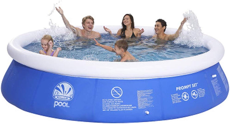 Pool- Riesiger aufblasbarer Swimmingpool Erwachsene Kinder Planschbecken 2.4  0.63m