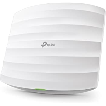 TP-Link Omada AC1350 Gigabit Ceiling Mount Wireless Access Point | Business Mesh WiFi Solution | MU-MIMO& Seamless Roaming | PoE Powered | SDN Cloud Access & Omada app for Easy Management (EAP225)