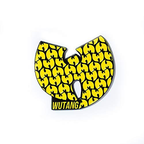 WuTang Clan Lapel Pin Wu-Tang Logo Hip Hop Hat Pin Lapel Pendant