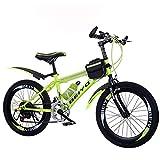VANYA Enfants Vélo Pliant 20/22 Pouces 6 Vitesse Variable légère en Acier au...