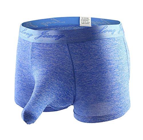 Tomatoa Herren Boxershort Unterwäsche Slips Shorts Pants Unterhosen Männer Tanga Elefant Slips G-Strings Dessous Reizvolles Panty Sexy Trunks S,M,L,XL