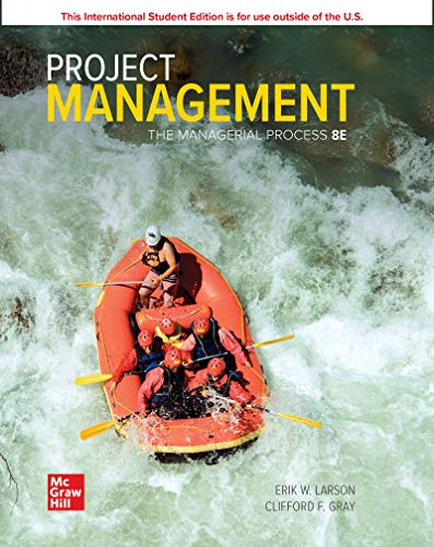 Project management: the managerial process (Scienze)