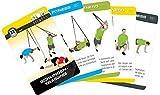 STOP! Fitness | Schlingentraining Sling Fitness Suspension Training | Trainingskarten Übungskarten, deutsche Version, Kartengröße 66 x 100 mm mit Kunststoffbox