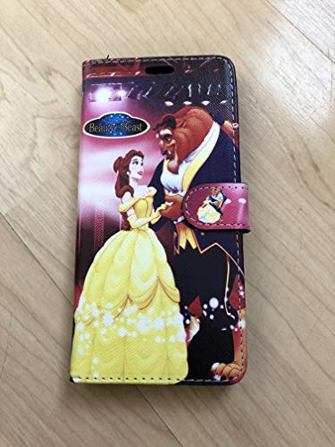 Princess Beauty and The Beast Belle Pu Leather Flip Stand Case Wallet For Samsung Galaxy S10 + Plus