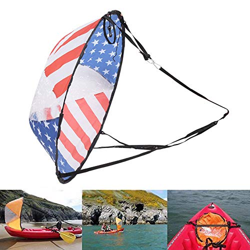 Weikeya Suitable Wind Paddle, Rowing Boats Wind with PVC for Canoeing Kayak Sailboat