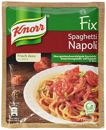 Knorr Fix Spaghetti Napoli 3 Portionen (1 x 44 g)