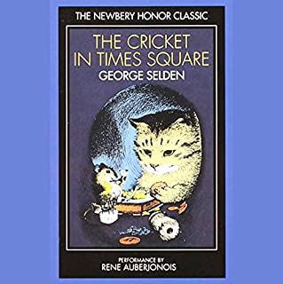 Cricket in Times Square audiobook cover art