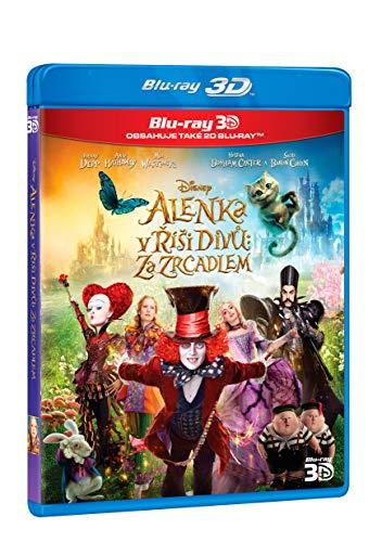 Alenka v risi divu: Za zrcadlem 2BD (3D+2D) (Alice Through the Looking Glass)