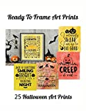 Ready To Frame Art Prints: 27 Halloween Art Prints