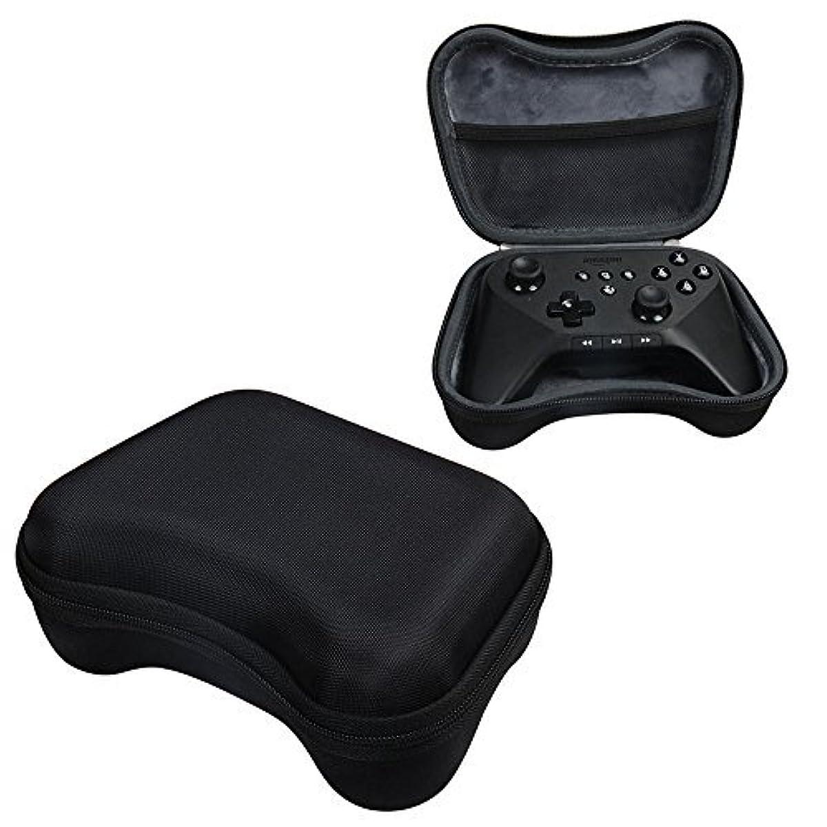 大工宣伝証明For Amazon Fire TV Game Controller Travel Hard EVA Protective Case Carrying Pouch Cover Bag Compact size by Hermitshell by Hermitshell [並行輸入品]