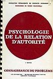 Psychologie de la relation d'autorite