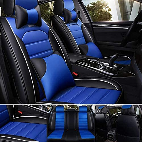 Max 67% OFF Dedication Super PDR Black Blue Seat Covers Full Set Include Front Co