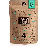 EasyRefill - 4 Ricariche Mangiapannolini Compatibili Angelcare | Tommee Tippee Sangenic Tec, Simplee, Twist and Click | Foppapedretti Maialino | Litter Locker II | Ricarica (4 Pezzi)