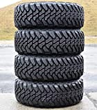 Set of 4 (FOUR) Accelera M/T-01 Mud Off-Road Radial Tires-265/60R18 265/60/18 265/60-18 110S Load Range SL 4-Ply BSW Black Side Wall