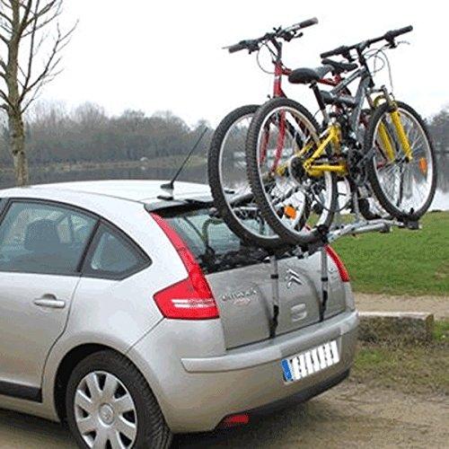 Fietsendrager op kofferbak/achterklep voor 2 fietsen – Easy 300