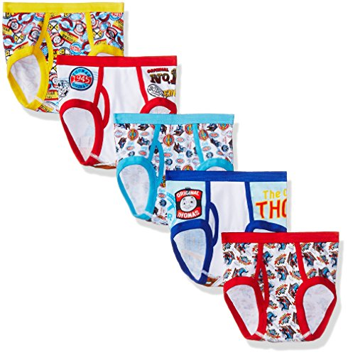 Mattel Boys' Little Friends 5pk Underwear, Assorted, 6
