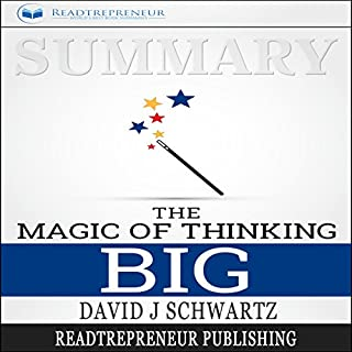 Summary: The Magic of Thinking Big audiobook cover art