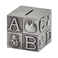 貯金箱を切る銀行 ヨーロッパのメタル貯金箱子供の貯金箱貯金箱貯金箱ホームデコレーションクリエイティブ誕生日ギフト 最高の贈り物のためのコインバンク貯金箱 (Color : A)