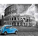 AYSUNJIE Puzzle 1000 Piezas para Adultos De Madera Niño Rompecabezas-Coliseo Romano-Decoración para El Hogar DIY Regalo Moderno Festival Juego Intelectual 75X50Cm
