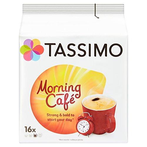 TASSIMO Morning Cafe Kaffee Kapseln Pods Refills T Discs 5er Pack, 80 Getränke