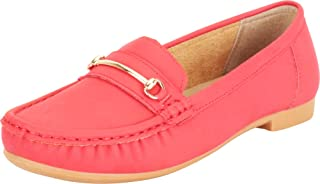 Cambridge Select Women's Horsebit Slip-On Flat Moccasin Loafer