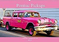 Pontiac Pickups - Legendaere Lastenesel der USA (Wandkalender 2022 DIN A2 quer): Pickups der Marke Pontiac in Kuba (Monatskalender, 14 Seiten )
