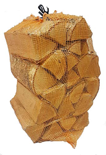 net of logs - firewood - Hardwood - Silver Birch - 15kg - 40 Litre - 25cm Long