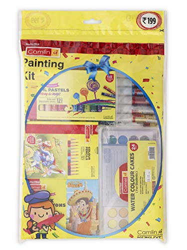 Camlin Painting Kit 199 Combo - Multicolor