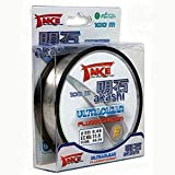 Lineaeffe Hilos de Pesca Take Akashi Ultraclear Fluorocarbon 100 m 100 m D. 0.500 mm Fluorocarbono Spinning Surfcasting Boloñesa