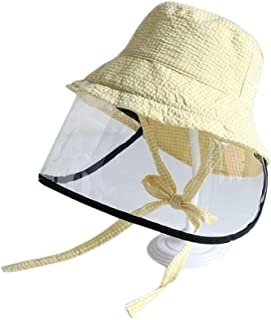 New Transparent Dental Protective mask New Children Sun Hats Anti Pollution Protective Cap Anti-Fog Hat Kids Saliva IsolationCaps Summer Dustproof Bucket Hat Anti-Fog, Essential for Home Outdoor use