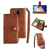 okaccessories OnePlus 6 Case, OnePlus 6 Wallet Case, [Wallet...