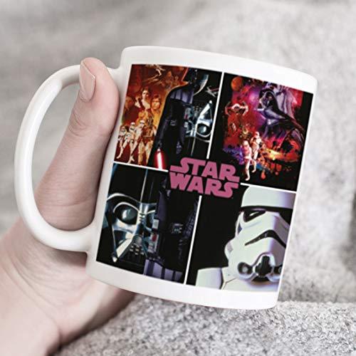 Taza oficial de Star Wars, regalo único para los fans de Star...
