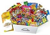 Assortiment de bonbons japonais et snacks Dagashi & Brochure en anglais 40 pièces candy