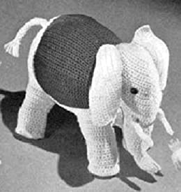 How to crochet an elephant application applique - YouTube | 275x260