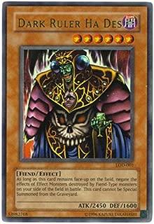 Yu-Gi-Oh! - Dark Ruler Ha Des (LOD-001) - Legacy of Darkness - Unlimited Edition - Ultra Rare